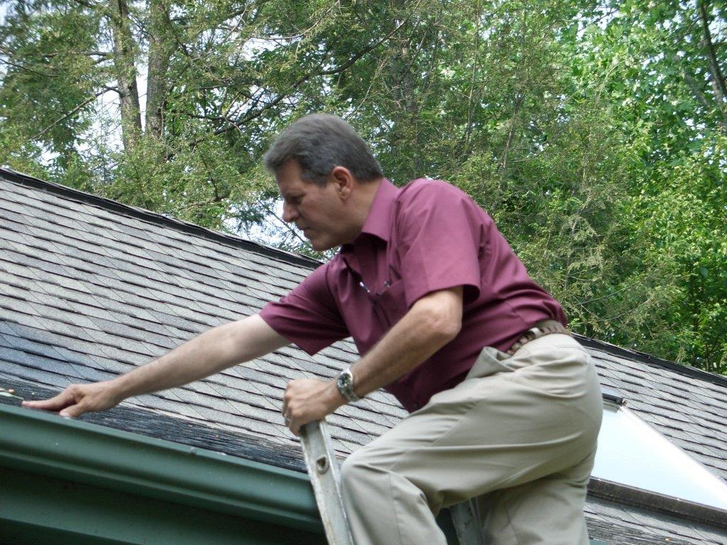 Inspection services Western North Carolina - Roof inspection